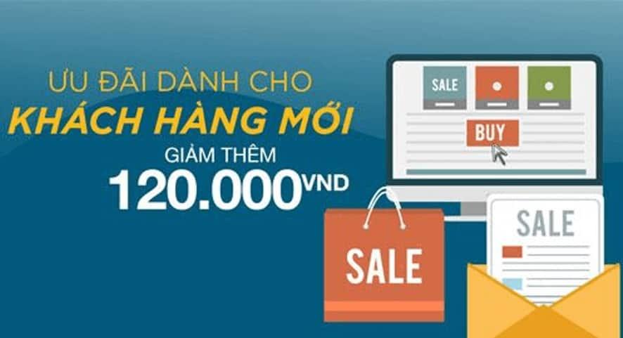 Tiki tạo ra mã giảm giá Tiki cho khách hàng mới nhằm mục đích thu hút nhiều khách hàng tiềm năng hơn