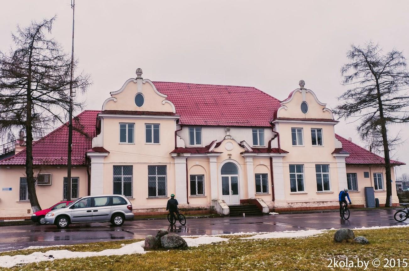 Вакзал - Наваельня