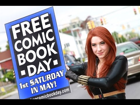 My 1st Free comic book day