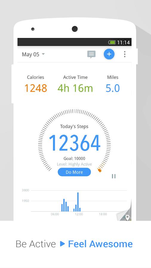 Pedometer Mobile App