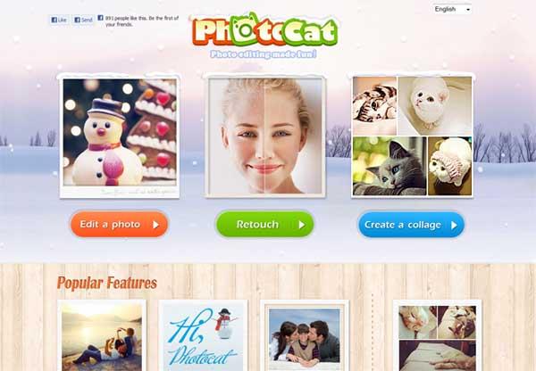photocat 16 Melhores Editores de Fotografia Gratis para Utilização Online
