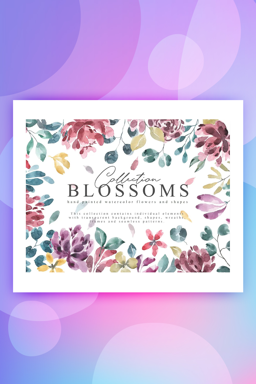 Blossoms Collection Illustration
