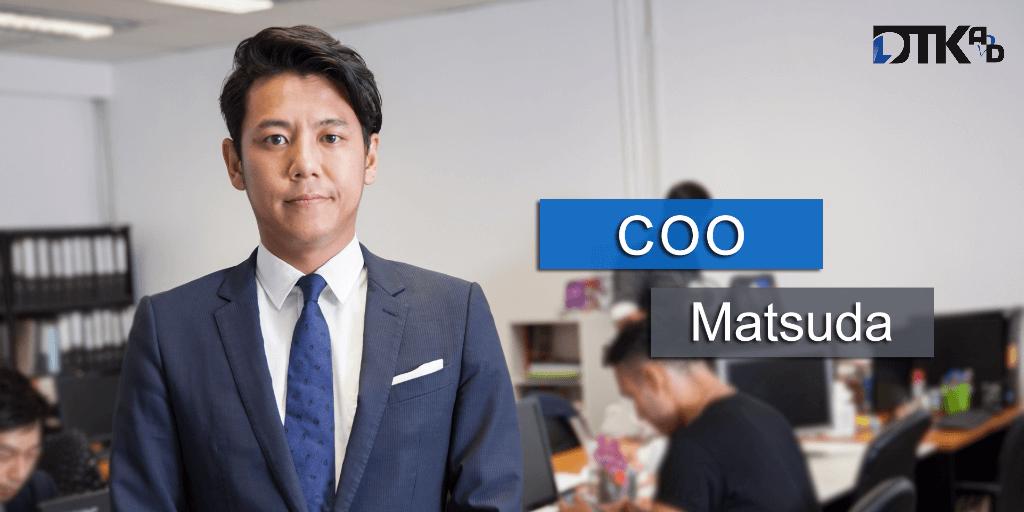 DTK AD COO Matsuda keita