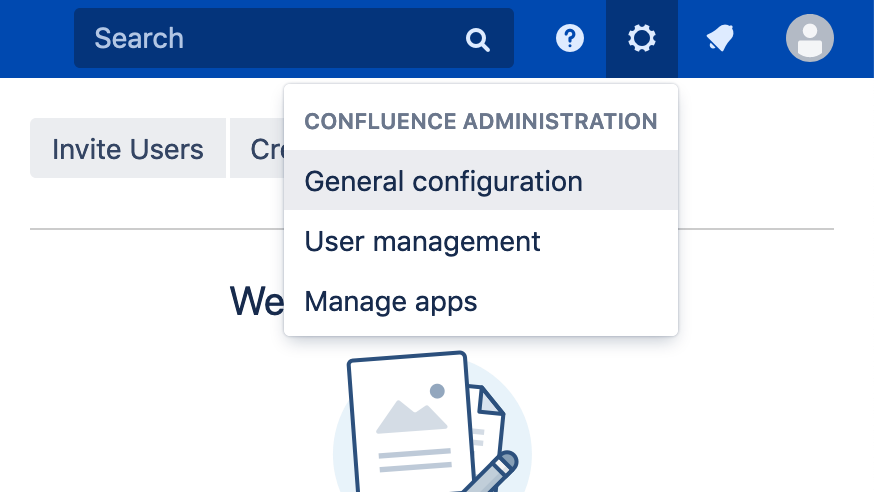 Jira or Confluence General Configuration