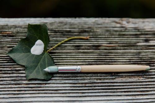 DIY Leaf Painting