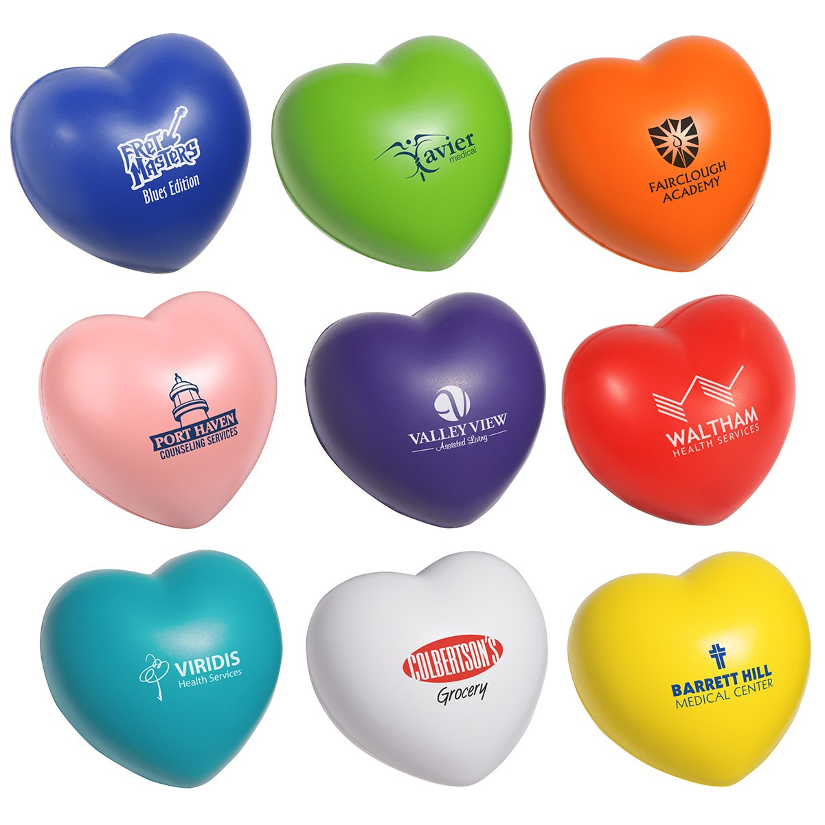 branded stress relievers