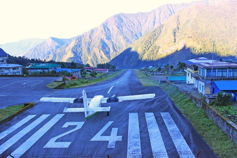 Pic: Lukla Airport