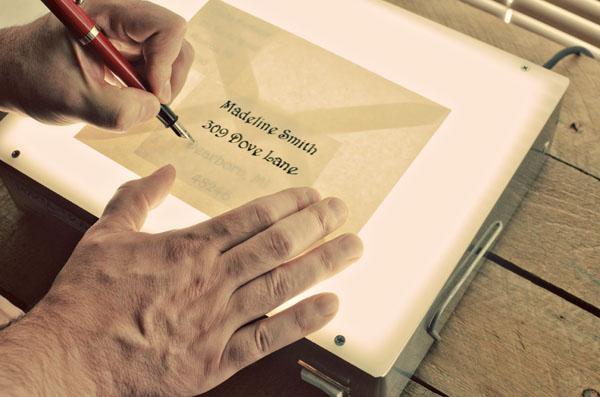 каллиграфическое письмо 2