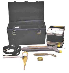 Complete electroejaculator set. (Courtesy of Minitube International).