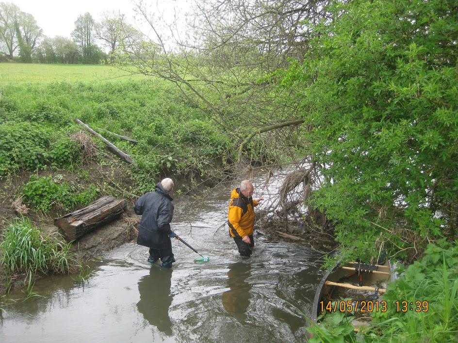 Volunteers wade into river to clear large blockage for All By Water