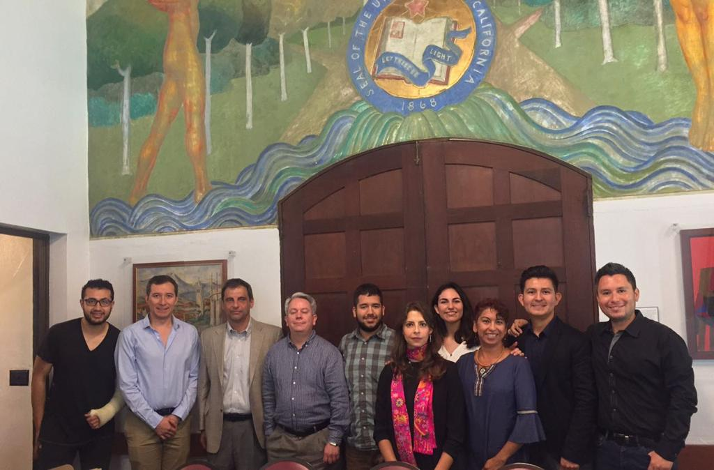 The American Mexican Association team members at the first community leaders meeting in the San Francisco Bay Area.