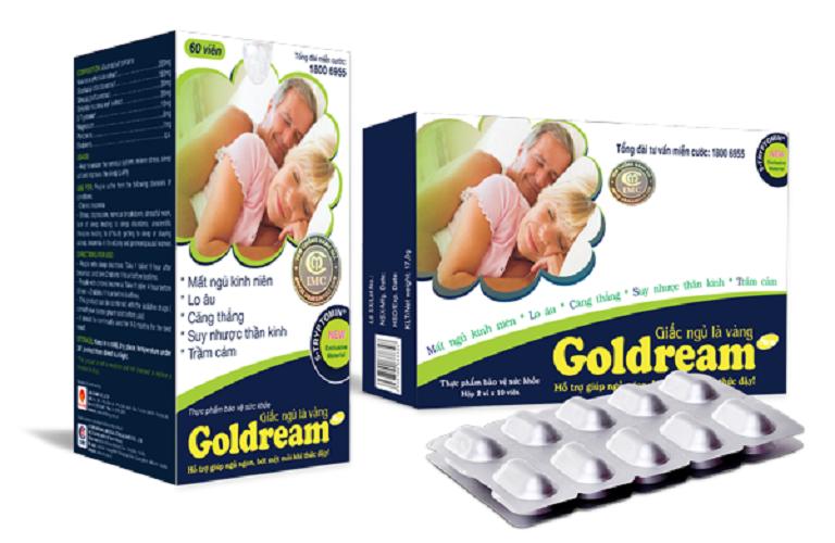 Thuốc ngủ Goldream có thành phần thảo dược