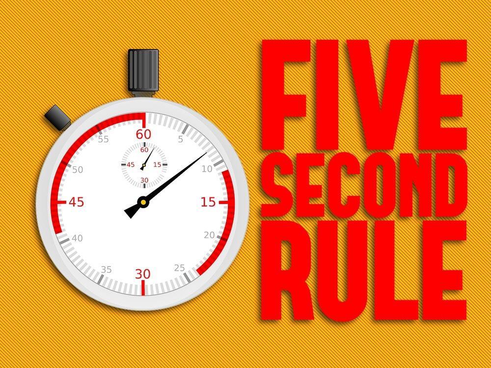 Kết quả hình ảnh cho quy luật 5 giây