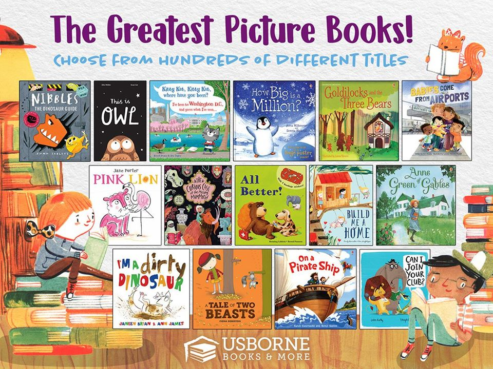 The greatest picture books! Use usborne books in your homeschool