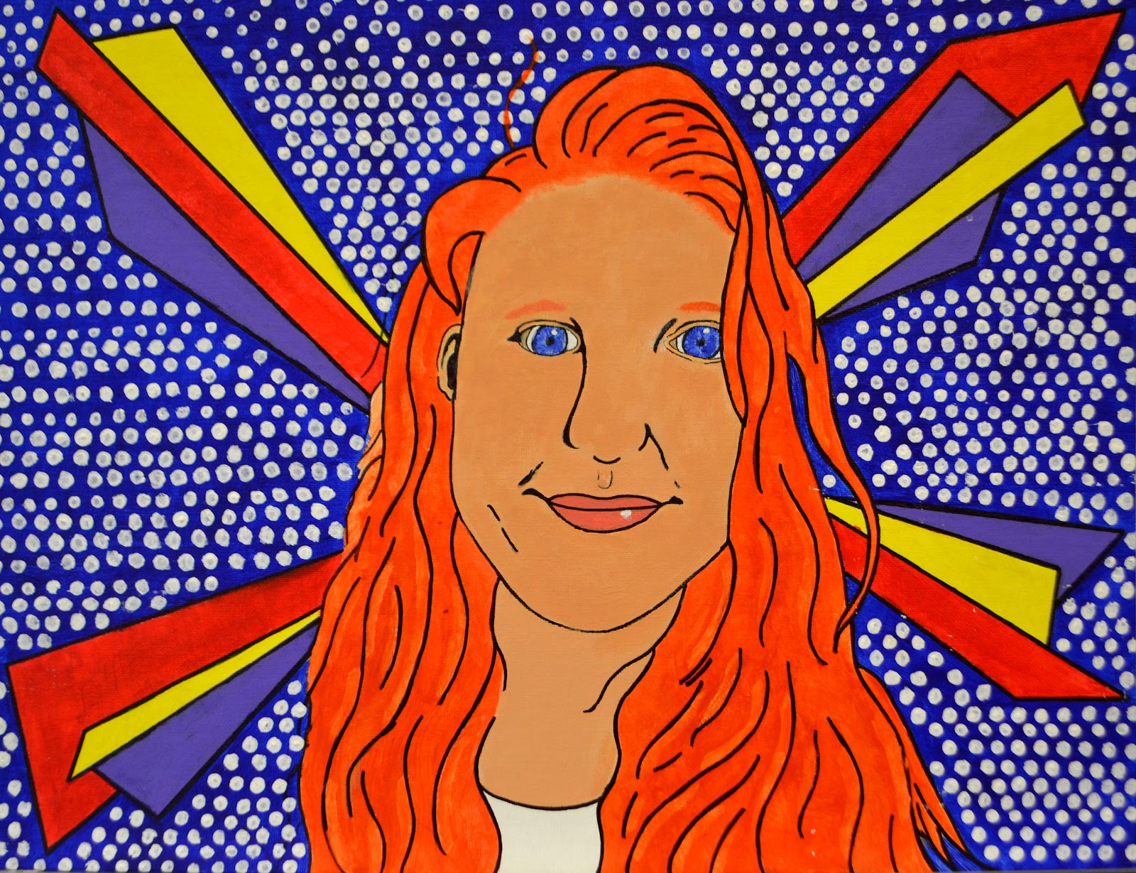 Eden Dalton Pop Art Self Portrait Acrylic on Canvas.jpg