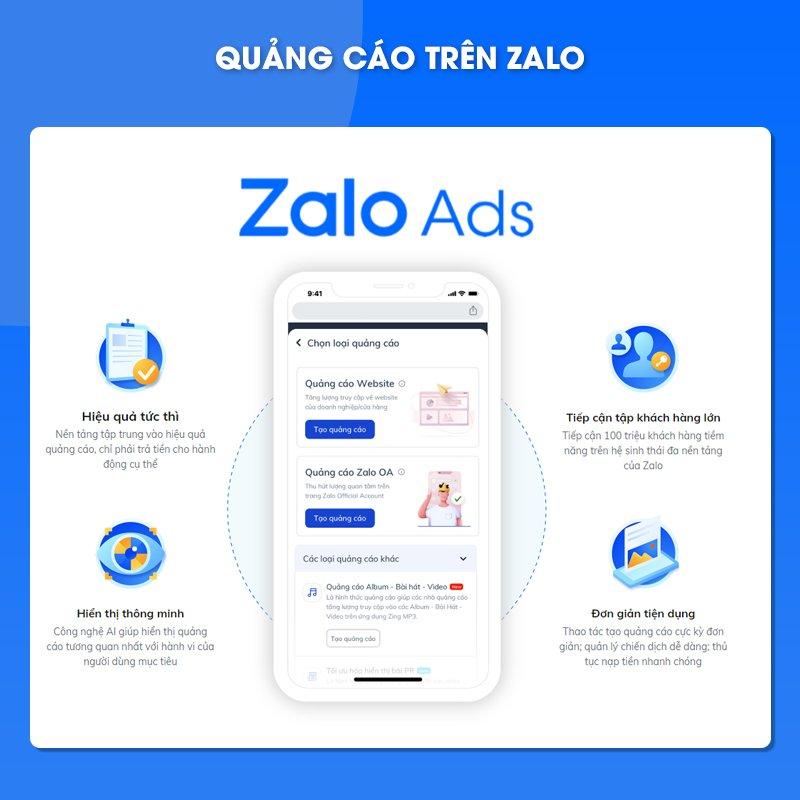 Nền tảng Zalo ads là gì? Cơ hội mới của Zalo Ads trong Marketing Online