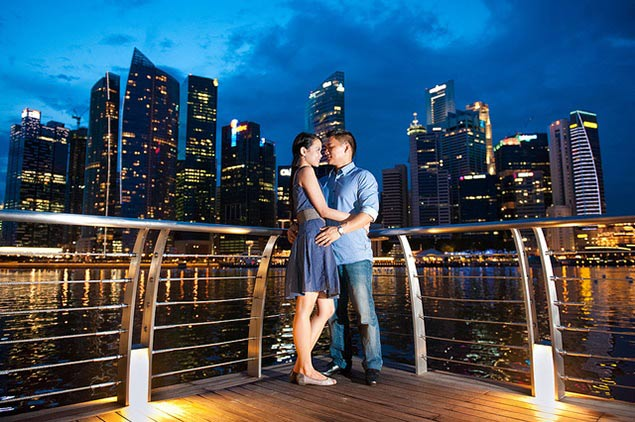 Singapore place  for Honeymoon