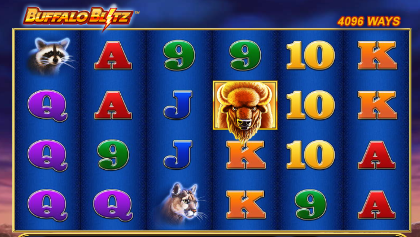 Buffalo Blitz is one of the best slot games you can play at The Sun Vegas Casino