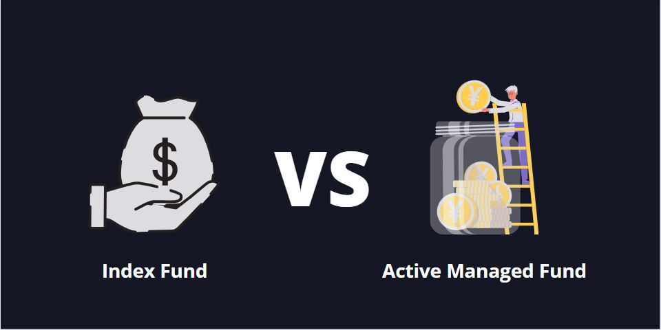 How is an Index Fund different from an Active Managed Fund?