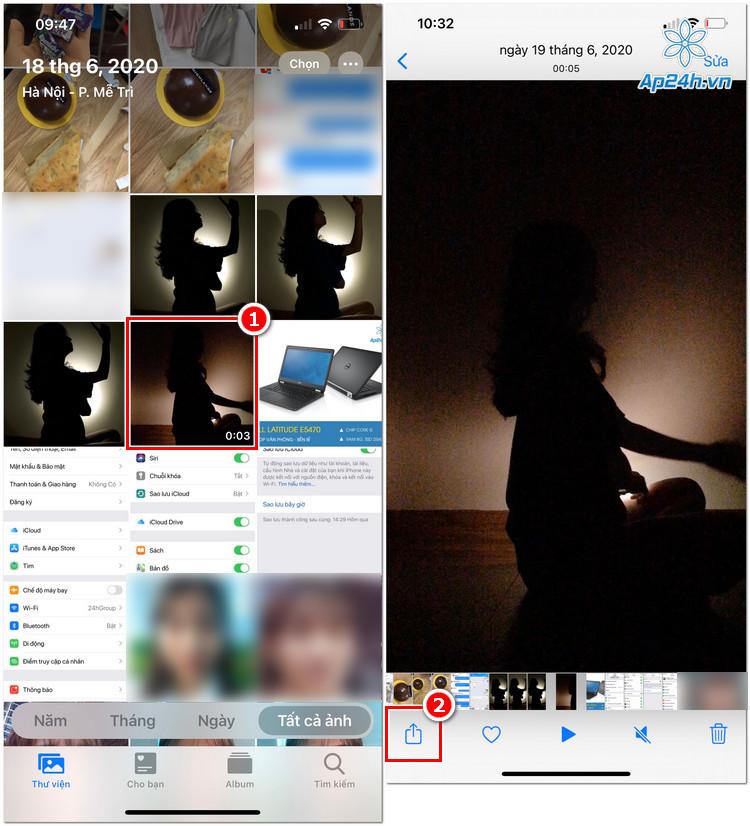 Làm ảnh GIF từ video trên điện thoại