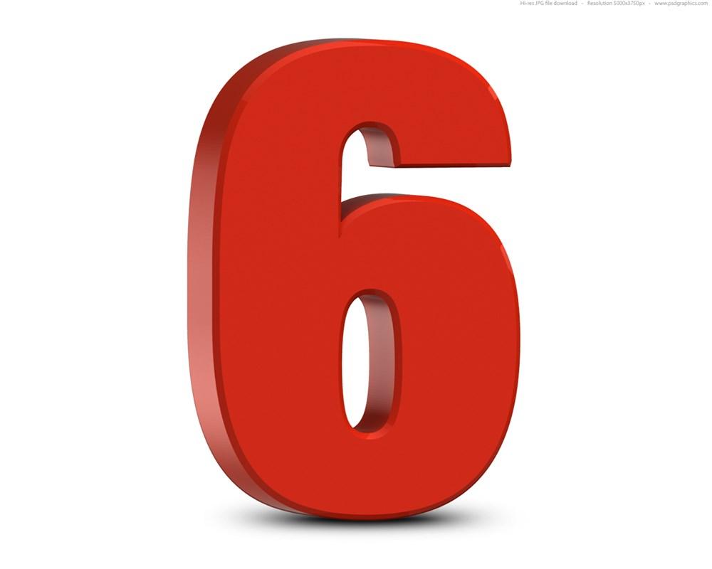 Ý nghĩa số 6 trong phong thủy