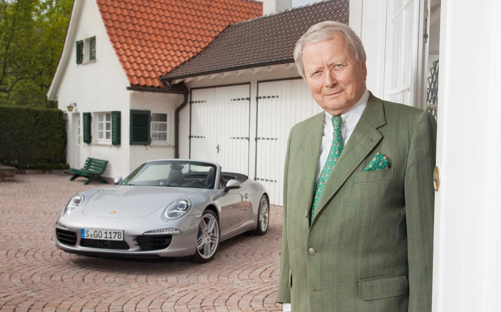 Thank you, my humble patients, for making me so very wealthy - Dr. Porsche