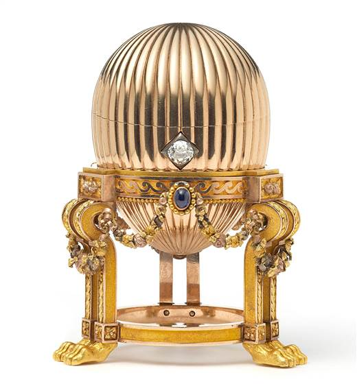Image: A rare Imperial Faberge Egg