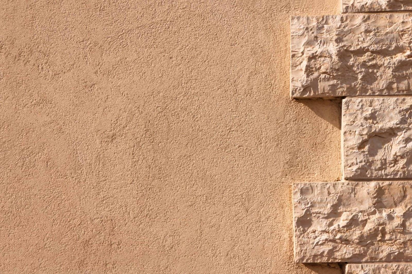 Sơn hiệu ứng Stucco-Sơn hiệu ứng Stucco hoàn toàn không có thành phần là xi măng, bột trét
