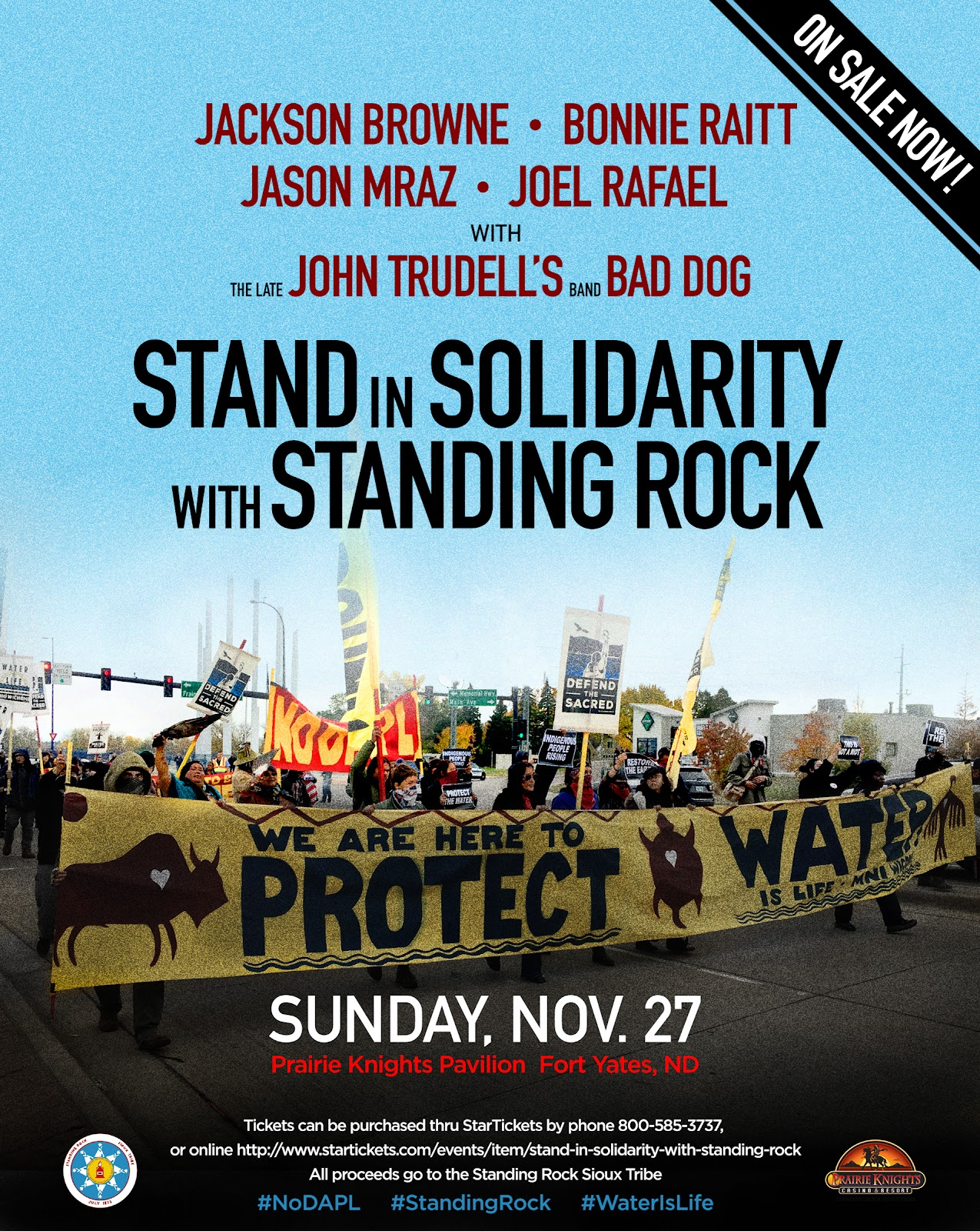 Standing Rock Concert - Courtesy Image