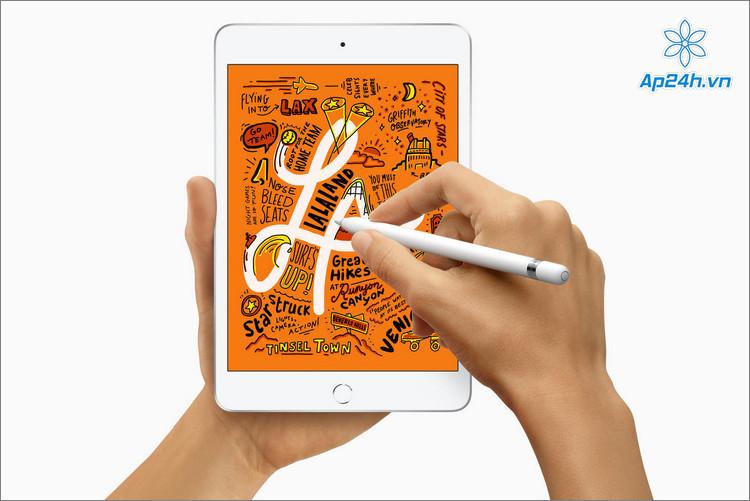 Nhỏ gọn và tiện di chuyển là ưu điểm của iPad Mini