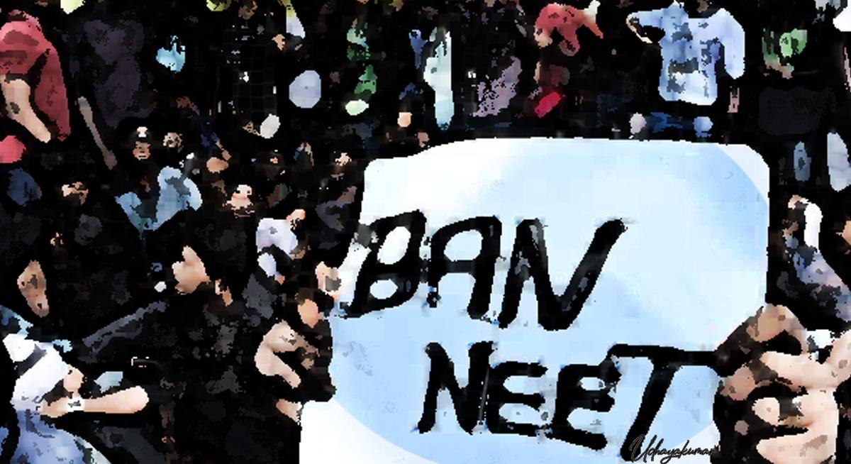 illustration for Ban NEET