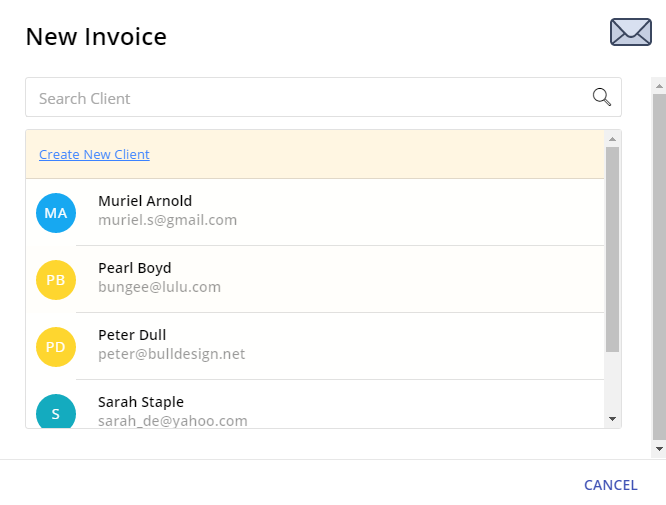 Issue An Invoice Receipt Or Quote VCita Help Center - Create invoice receipt
