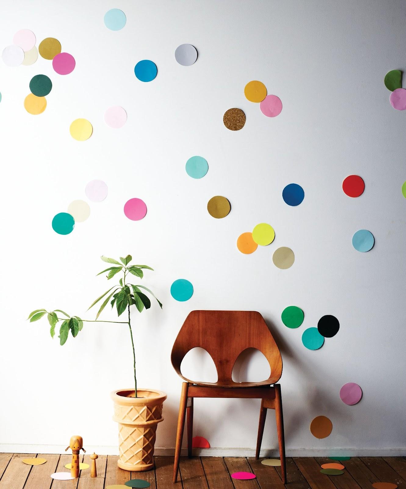 Creating A DIY Colorful Wall