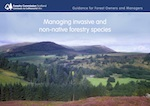 Managing invasive and non-native forestry species cover image