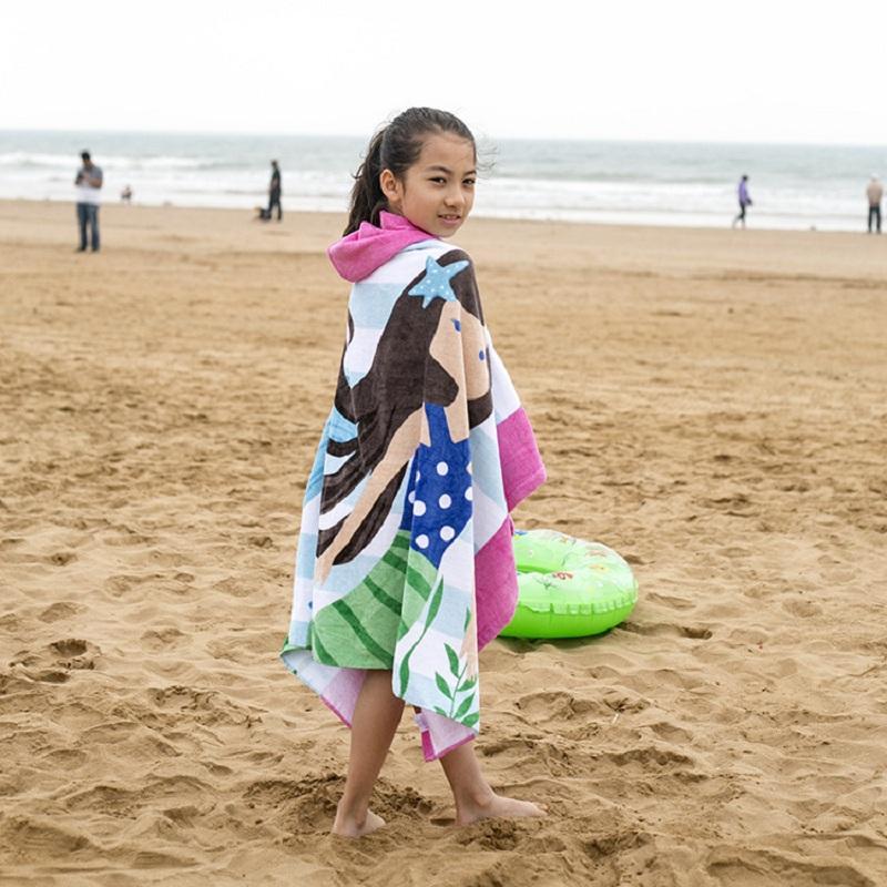 Aesthetic Children Hooded Bath Towel