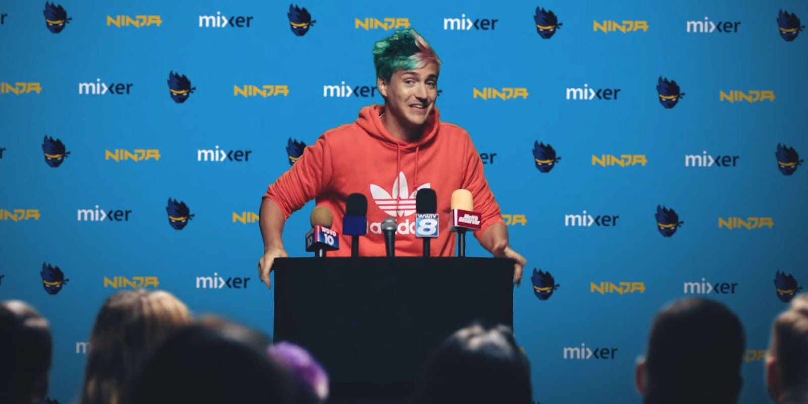 Image result for Ninja's first day on Mixer