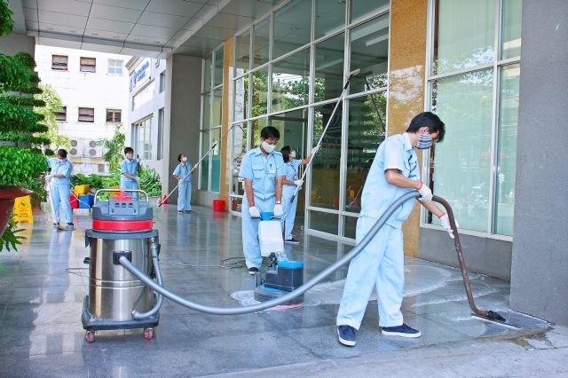 Đa dạng các dịch vụ từ công ty vệ sinh tại Bình Dương