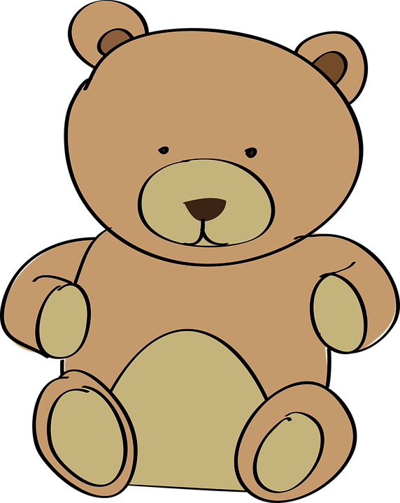 Free vector graphic: Teddy Bear, Toy, Plush, Cuddly - Free Image ...