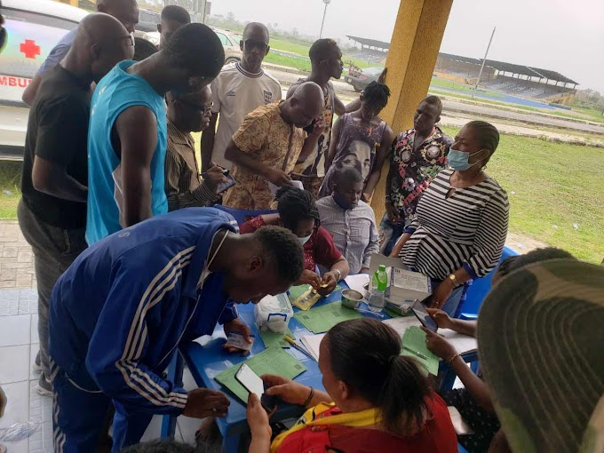 National Sports Festival: Team Rivers Athletes Receive Covid-19 Vaccine
