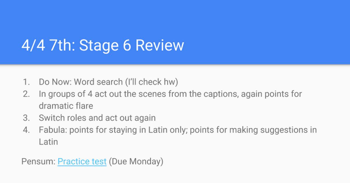 4/6 Stage 6 Review - Google Slides