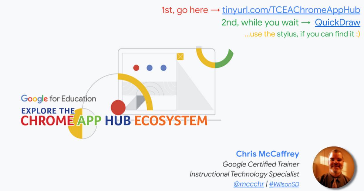 Chrome App Hub Ecosystem ~ Acer Tab 10
