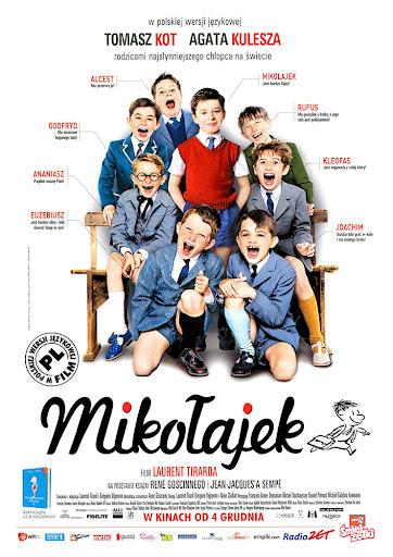 Przód ulotki filmu 'Mikołajek'