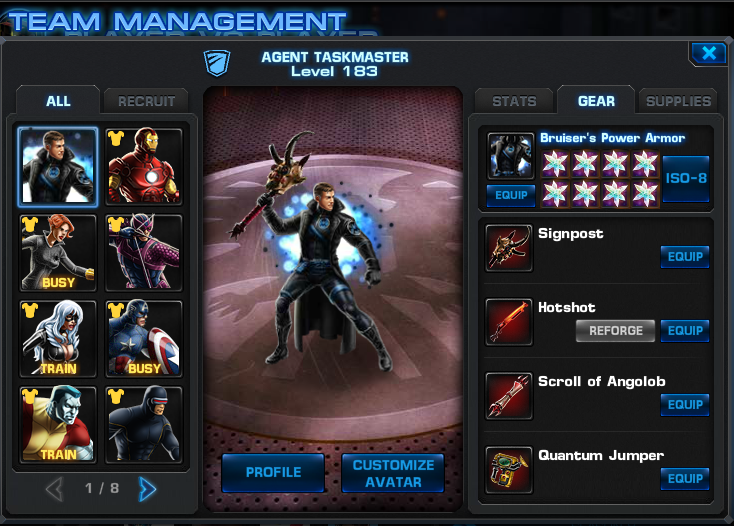Tigra marvel avengers alliance pvp prizes