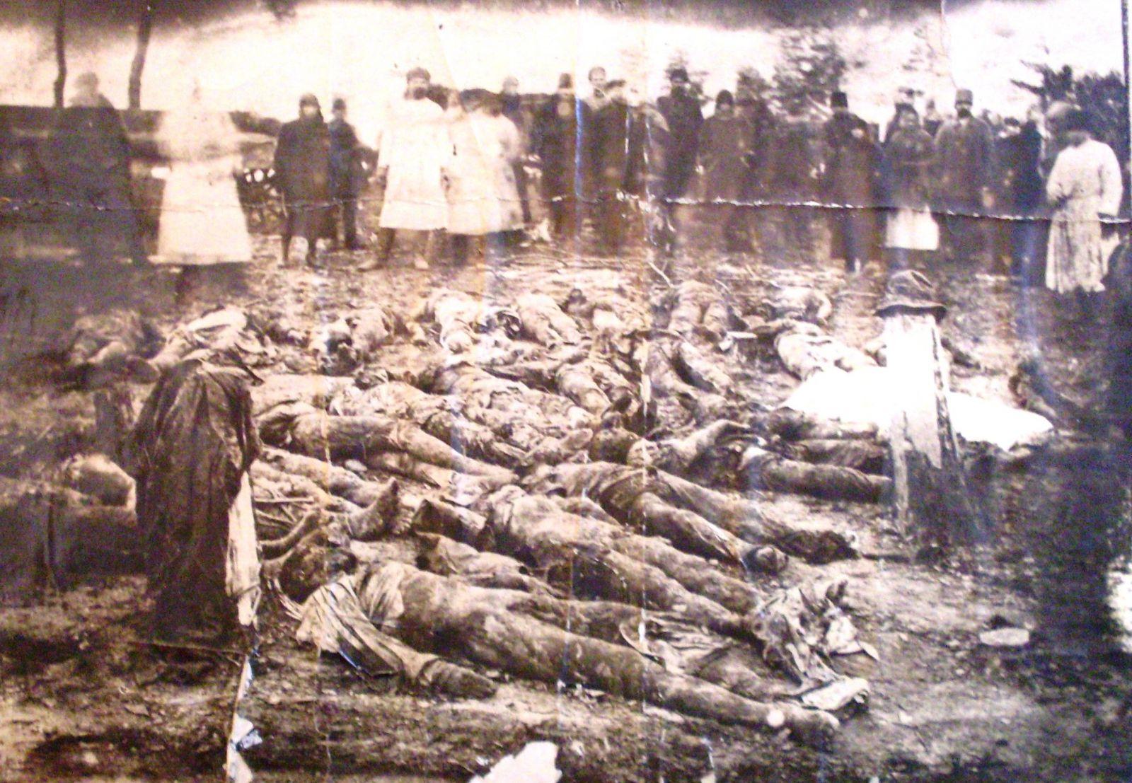 Відвідування клубу для декого закінчилося ось так. Розкопки жертв білого терору у Григорівському лісі. Грудень 1919-го