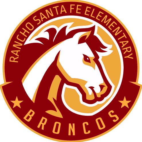 Rancho Santa Fe Logo Bronco