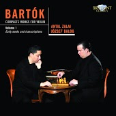 Bartok: Complete Works for Violin, Vol. 1
