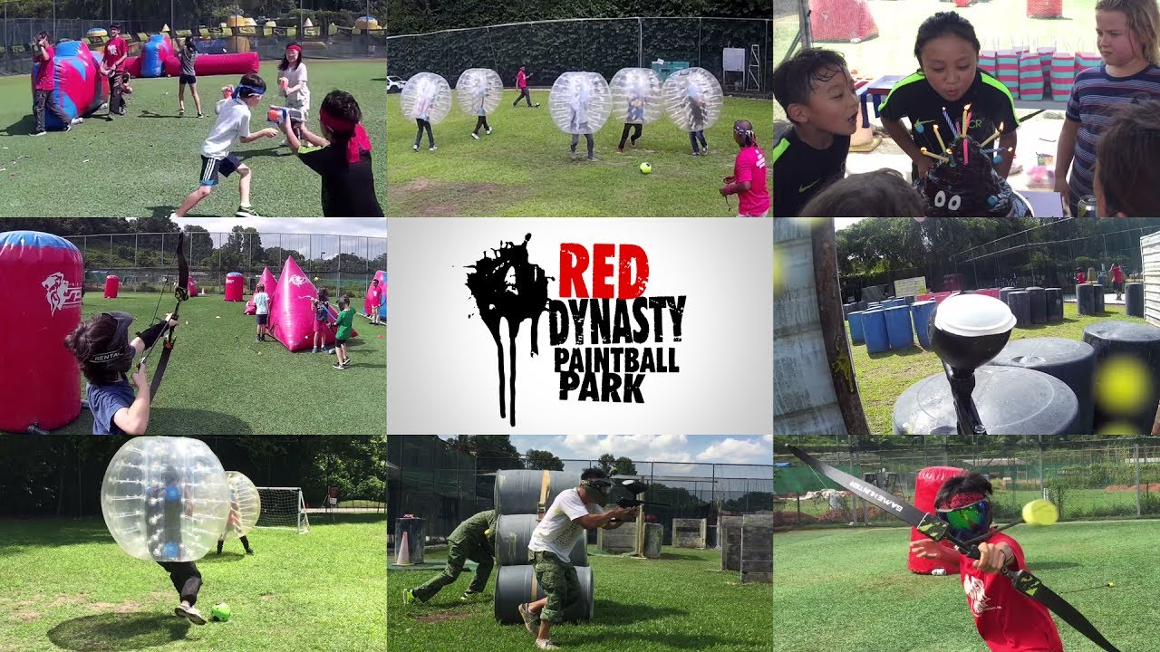 A typical day at Red Dynasty Paintball Park (Singapore) - YouTube