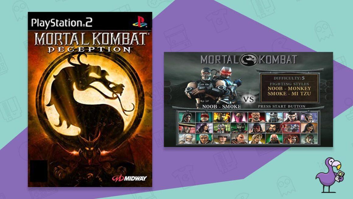 mortal kombat deception best ps2 fighting games
