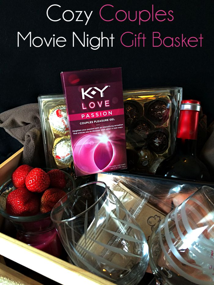 Cozy Couples Movie Night Gift Basket Moments With Mandi