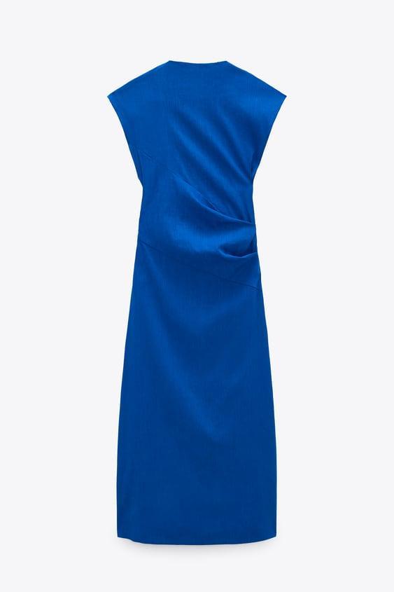 Imagen 3 de VESTIDO CON LINO LIMITED EDITION de Zara